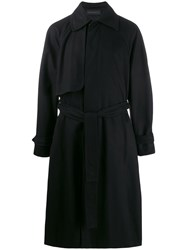 Ann Demeulemeester Belted Trench Coata Colla 60
