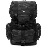 Balmain Black Camo Elite Army Backpack