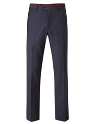 Skopes Men's Millard Wool Blend Suit Trouser Navy