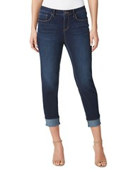 Miraclebody Jeans Promise Roll Cropped Royal