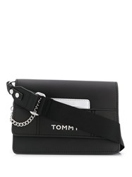 Tommy Hilfiger Logo Cross Body Bag Black