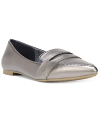 Dr. Scholl's Sofie Pointed Toe Ballet Flats Women's Shoes Pewter