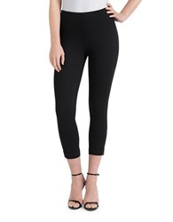 Lysse Plus Cropped Stretch Leggings Black