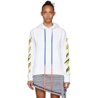 Off White Acrylic Arrows Hoodie