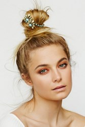 Kitsch For Free People Deco Wing Bun Cuff