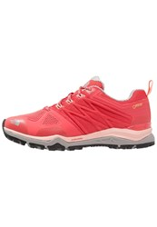 The North Face Ultra Fastpack Ii Gtx Hiking Shoes Cayenne Red Tropical Peach Salmon