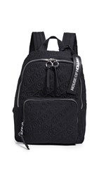House Of Holland Embroidered Backpack Black