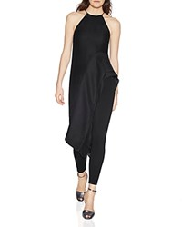 Halston Heritage Asymmetric Tunic Top 100 Bloomingdale's Exclusive Black