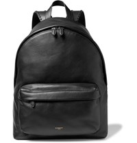 Givenchy Studded Grained Leather Backpack Black