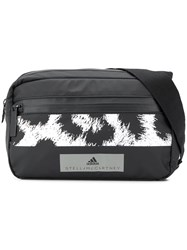 Adidas By Stella Mccartney Leopard Print Belt Bag Black