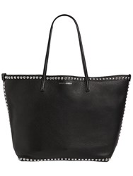 Dsquared Alberta Studded Leather Tote Bag