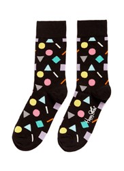 Happy Socks 'Play' Geometric Multi Colour
