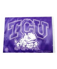 Rico Industries Texas Christian Horned Frogs Car Flag Team Color