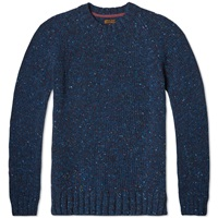 Barbour Netherby Crew Neck Knit Blue