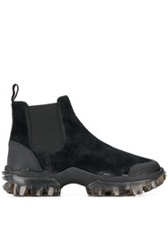 Moncler Panelled Ankle Boots 60