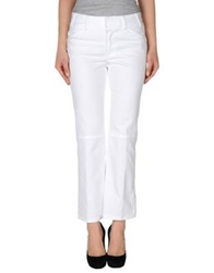 Tory Burch Denim Pants White