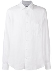 Aspesi Classic Shirt With Pockets White