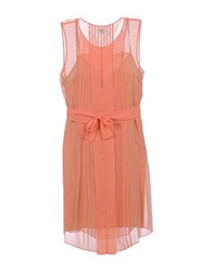 Hoss Intropia Short Dresses Salmon Pink