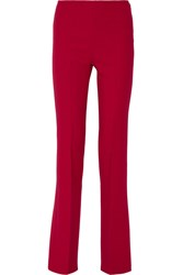 Theory Demitria Stretch Wool Flared Pants