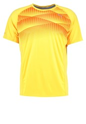 Puma Sports Shirt Ultra Yellow Heather Neon Yellow