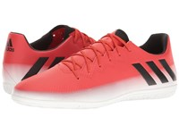 Adidas Messi 16.3 In Red Core Black Footwear White Men's Soccer Shoes Pink