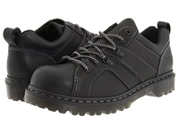 Dr. Martens Finnegan 6 Tie Shoe Black Greasy Men's Lace Up Casual Shoes