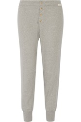 Current Elliott Charlotte Gainsbourg The Sweat Jersey Jogging Sweatpants Gray