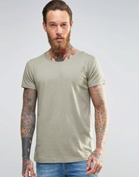 Lee Ultimate T Shirt In Green Vetiver Green