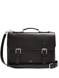 Mulberry Chiltern Grained Leather Briefcase Black