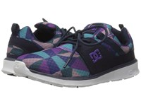 Dc Heathrow Se Purple Rain Dusty Purple Women's Skate Shoes Multi