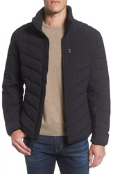 Marc New York Bergen Quilted Down Jacket Black