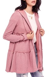Free People Trapeze Hoodie Rose