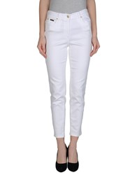 Clips More Denim Denim Trousers Women White