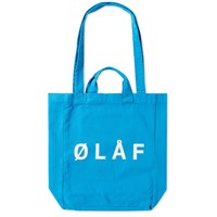 Olaf Hussein Tote Bag Blue