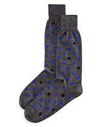 Bloomingdale's The Men's Store At Pop Dot Socks Medium Grey
