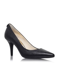 Michael Michael Kors Flex Saffiano Mid Heel Pumps Female Black