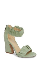 Charles By Charles David 'S Haley Ruffle Sandal Mint Suede
