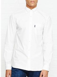 Aquascutum London Eshton Ls Poplin Shirt White