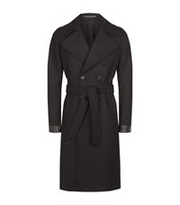 Allsaints Fenton Double Breasted Coat Male Black