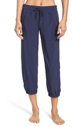 Zella Women's 'Out And About' Crop Joggers Navy Peacoat