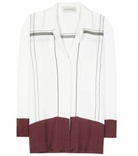 By Malene Birger Angelica Printed Blouse White