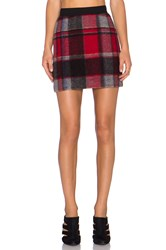 Erin Kleinberg That Plaid Skirt Red