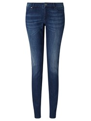 Hugo Boss Boss Orange J20 Mid Rise Slim Leg Jeans Indigo