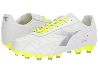 Diadora M. Winner Rb Lt Mg 14 White Fluo Yellow Soccer Shoes