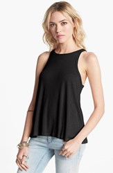 Women's Free People 'Long Beach' Tank Black