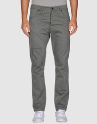 Liquid Casual Pants Dark Brown