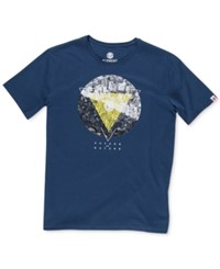 Element Men's Graphic Print T Shirt Eclipse