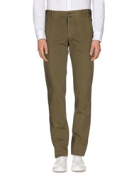 Betwoin Trousers Casual Trousers Men Military Green