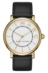 Marc By Marc Jacobs Women's Roxy Leather Strap Watch 36Mm
