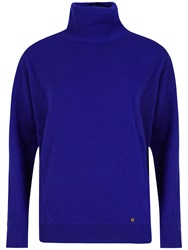 Ted Baker Meera Cashmere Roll Neck Jumper Blue